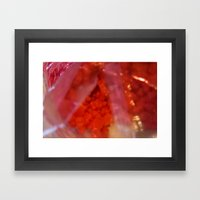 Indulge Pink | Gummy Bear Addict :) Framed Art Print