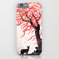 iPhone & iPod Case featuring Wind in the Willows by Gelrev Ongbico