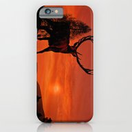 Deer On A Hill iPhone 6 Slim Case
