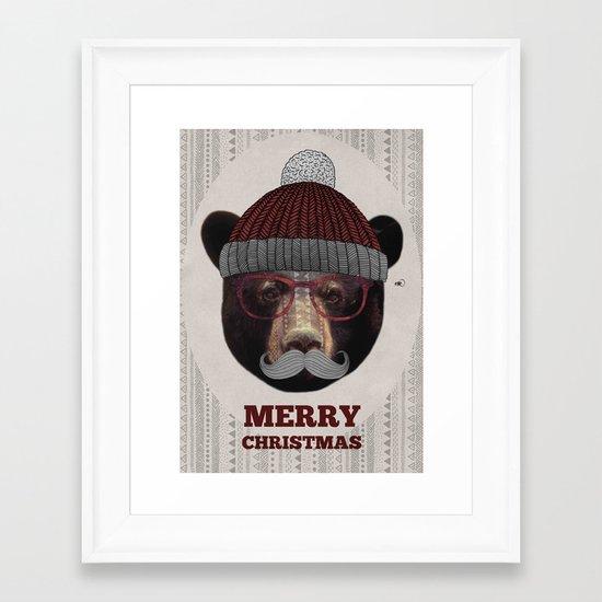 Gustav - Christmas Edition Framed Art Print