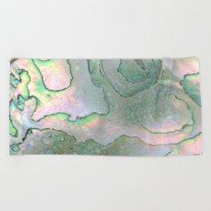 Shell Texture Beach Towel