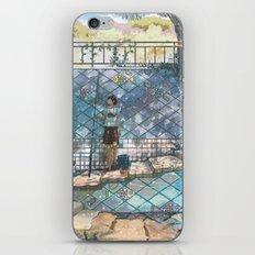 Sea stairs iPhone & iPod Skin