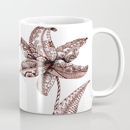 Henna Lily Mug