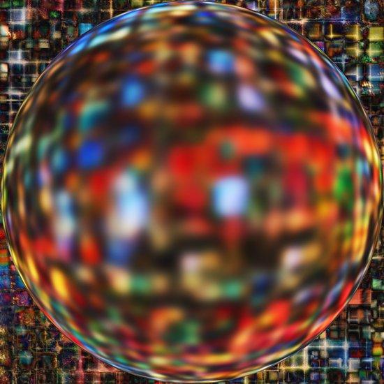 Glass Globe Art Print