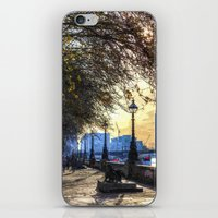 River Thames Path Oil iPhone & iPod Skin