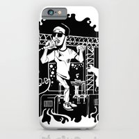 iPhone & iPod Case featuring Man on the moon by Duy Vo
