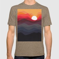 Outono Mens Fitted Tee Tri-Coffee SMALL