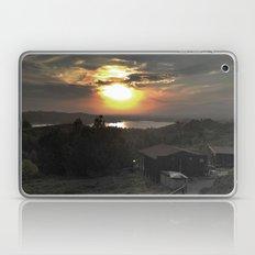 Sunset and Cabin Laptop & iPad Skin