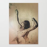 Wildest Moments  Canvas Print