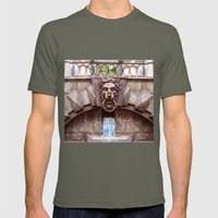 Weeping lion Mens Fitted Tee Lieutenant SMALL
