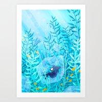 Fishbowl Art Print
