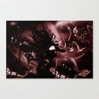 MUST BE THE MUSIC Canvas Print