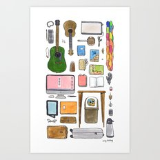Objects of Adoration Art Print