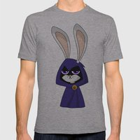 Bunny Raven Mens Fitted Tee Athletic Grey SMALL