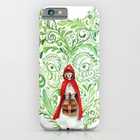 iPhone & iPod Case featuring Red Riding Hood by Stephane Lauzon