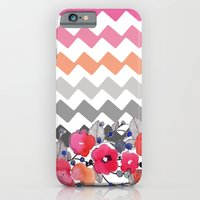 Colourful Flowers And Zi… iPhone 6 Slim Case
