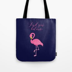 Find Your Balance Tote Bag