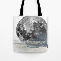 Low Moon Tote Bag