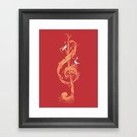 Natural Melody Framed Art Print