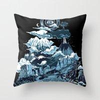 Terra Mikronic Throw Pillow