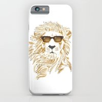 iPhone & iPod Case featuring 'king Cool by Andrew Treherne