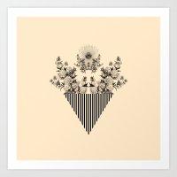 COSMIC NATURE VII Art Print