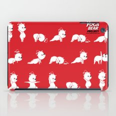 Yoga Bear - Polar Bear iPad Case