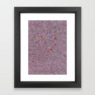 Microcosm IV Framed Art Print
