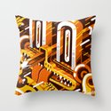 Pencil Nose Throw Pillow