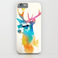 iPhone Cases featuring Sunny Stag by Robert Farkas