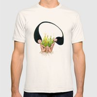 Garden Of Hope Mens Fitted Tee Natural SMALL