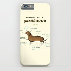 Anatomy of a Dachshund iPhone 6s Slim Case