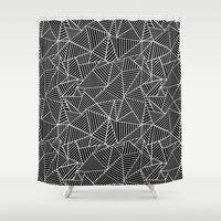 Ab 2 Repeat Shower Curtain