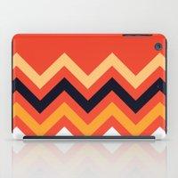 Retro Zigzag iPad Case