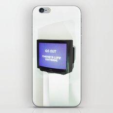 DOMESTIC ABUSE iPhone & iPod Skin