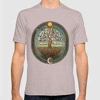 Ouroboros Mens Fitted Tee Cinder SMALL