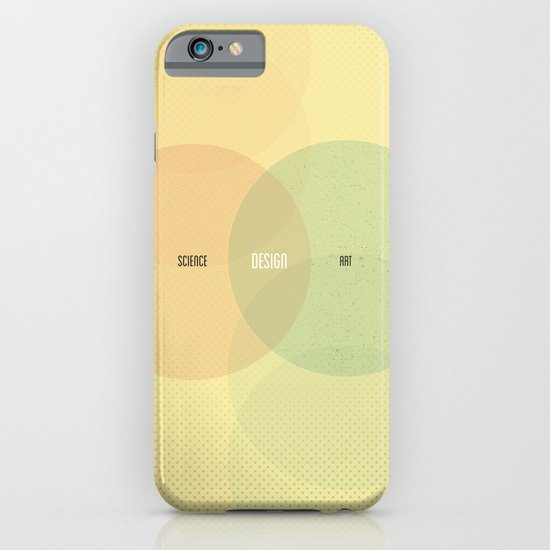 Design is Where Science and Art Break Even iPhone & iPod Case