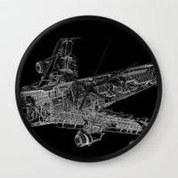 Boing 747 Wall Clock