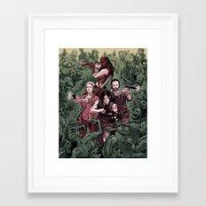 WALKERS Framed Art Print