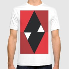 tuyyo White Mens Fitted Tee SMALL