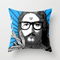 Jesus Bane #02 Throw Pillow