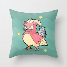 Sloweotto Throw Pillow