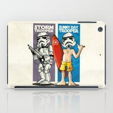 Storm and Sunny Day Trooper iPad Case