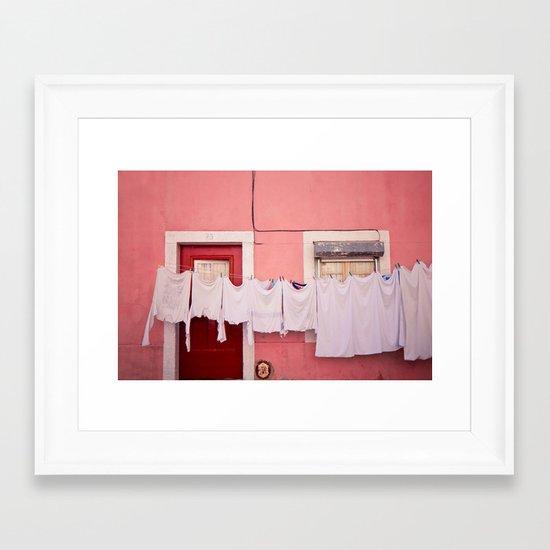 number 75 Framed Art Print