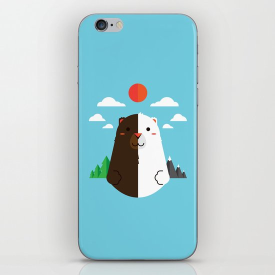 Grizzly & Polar iPhone & iPod Skin