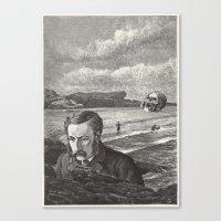 I Am Shipwrecked Canvas Print