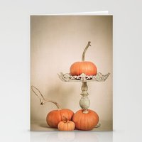 Autumn Pumpkin Stationery Cards