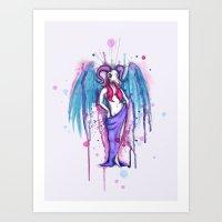 Dirty Wings Art Print