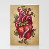 Organ-ic Stationery Cards