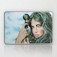 Warrior Girl Laptop & iPad Skin